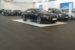 PVC tegels in BMW showroom