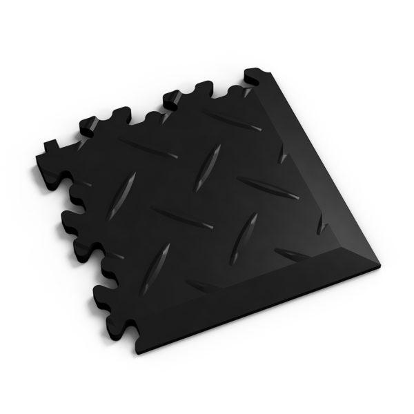 PVC hoek black diamonds MeneerTegel PVC en rubber vloer tegels