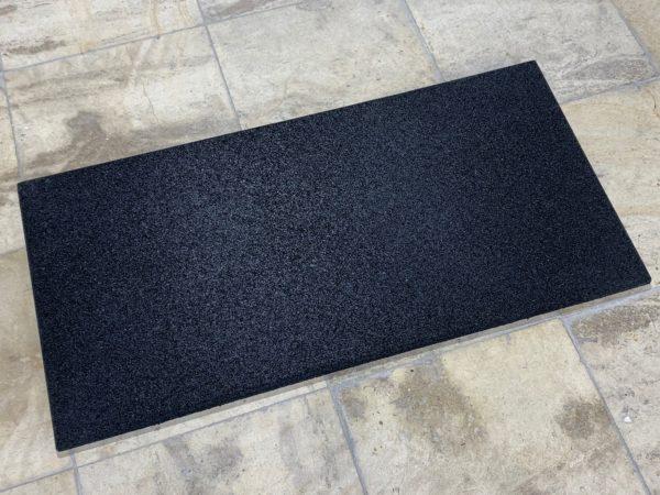 half 100x50x2cm zwart