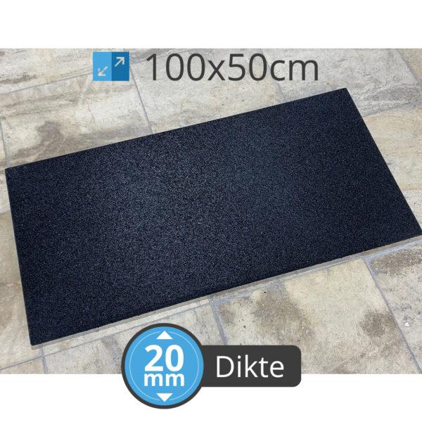 Cross Fitness 100 MT 20 HALF BLACK
