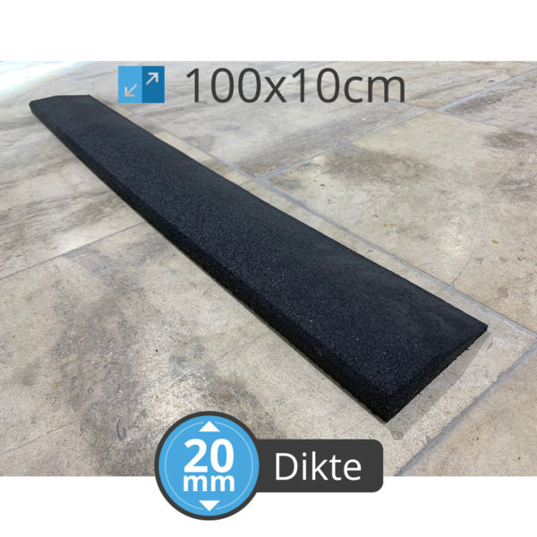 Cross Fitness 100 MT 20 Ramp Zwart